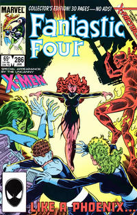 Cover Thumbnail for Fantastic Four (Marvel, 1961 series) #286 [Direct]