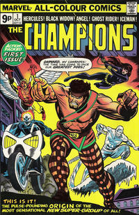 Cover for The Champions (Marvel, 1975 series) #1 [Regular Edition]