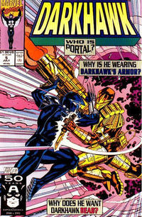 Cover Thumbnail for Darkhawk (Marvel, 1991 series) #5 [Direct]