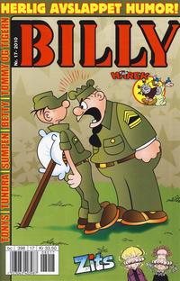 Cover Thumbnail for Billy (Hjemmet / Egmont, 1998 series) #17/2010