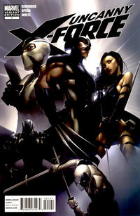 Cover Thumbnail for Uncanny X-Force (Marvel, 2010 series) #1 [Crain Variant]