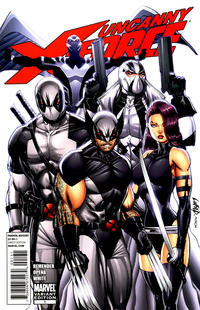Cover Thumbnail for Uncanny X-Force (Marvel, 2010 series) #1 [Liefeld Variant]