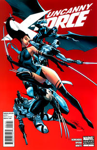 Cover Thumbnail for Uncanny X-Force (Marvel, 2010 series) #1 [Campbell Variant]