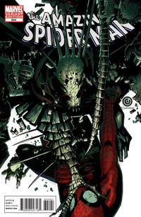 Cover Thumbnail for The Amazing Spider-Man (Marvel, 1999 series) #644 [Chris Bachalo 'Spidey Vs' Variant Cover]