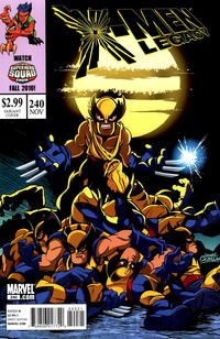 Cover Thumbnail for X-Men: Legacy (Marvel, 2008 series) #240 [Super Hero Squad Variant Edition]