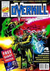 Cover Thumbnail for Overkill (Marvel UK, 1992 series) #1