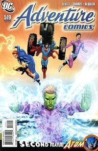Cover Thumbnail for Adventure Comics (DC, 2009 series) #519