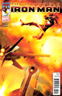 Cover for Invincible Iron Man (Marvel, 2008 series) #31