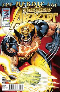 Cover Thumbnail for New Avengers (Marvel, 2010 series) #5 [Standard Cover]