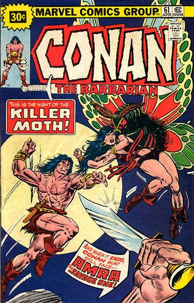 Cover for Conan the Barbarian (Marvel, 1970 series) #61 [30¢ Price Variant]