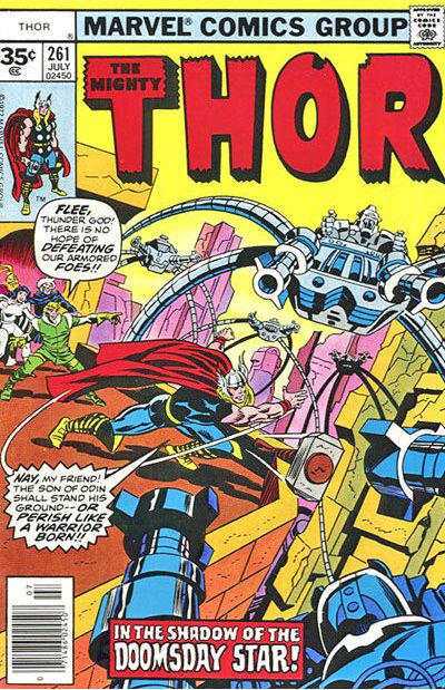 Cover for Thor (Marvel, 1966 series) #261 [30¢ Cover Price]
