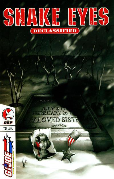 Cover for G.I. Joe: Snake-Eyes: Declassified (Devil's Due Publishing, 2005 series) #2