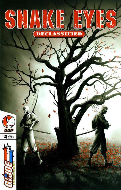 Cover for G.I. Joe: Snake-Eyes: Declassified (Devil's Due Publishing, 2005 series) #4