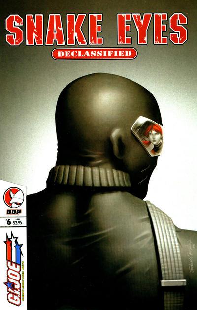 Cover for G.I. Joe: Snake-Eyes: Declassified (Devil's Due Publishing, 2005 series) #6