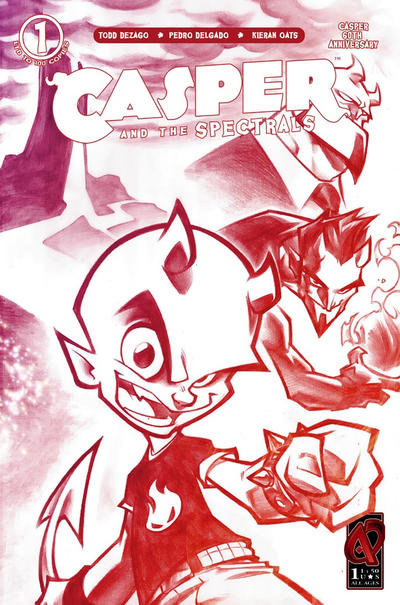 Cover for Casper and the Spectrals (Ardden Entertainment, 2009 series) #1