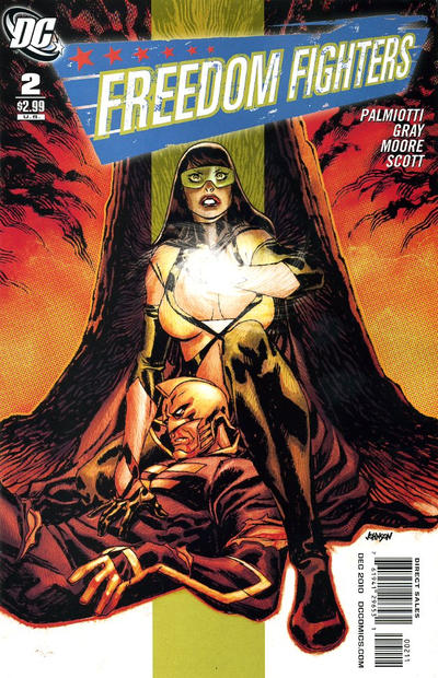 Cover for Freedom Fighters (DC, 2010 series) #2