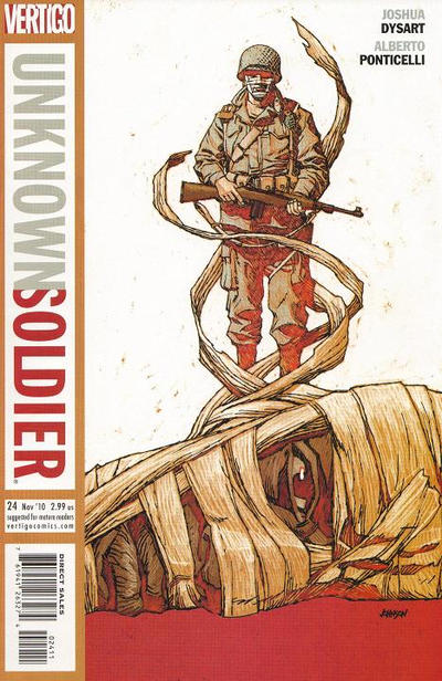 Cover for Unknown Soldier (DC, 2008 series) #24
