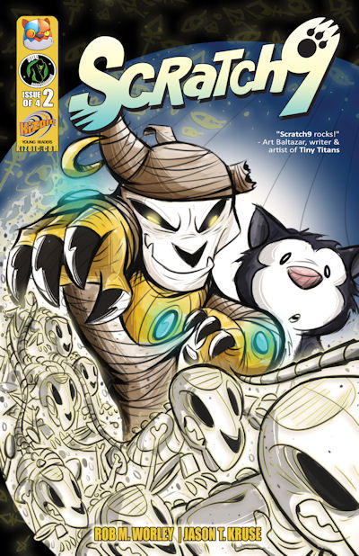 Cover for Scratch9 (Ape Entertainment, 2010 series) #2