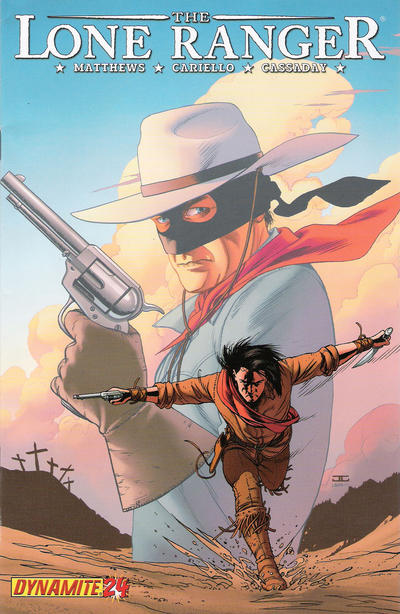 Cover for The Lone Ranger (Dynamite Entertainment, 2006 series) #24