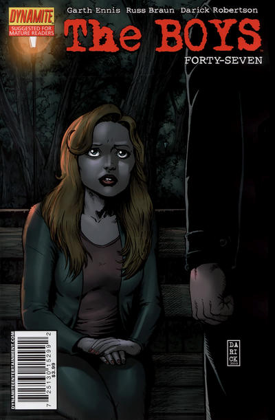 Cover for The Boys (Dynamite Entertainment, 2007 series) #47