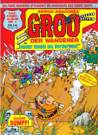 Cover for Groo der Wanderer (Condor, 1984 series) #1