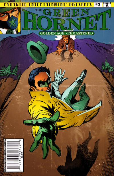 Cover for The Green Hornet: Golden Age Re-Mastered (Dynamite Entertainment, 2010 series) #3
