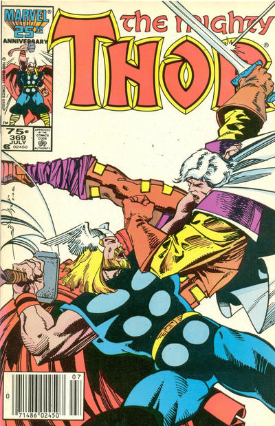 Cover for Thor (Marvel, 1966 series) #369 [Direct]