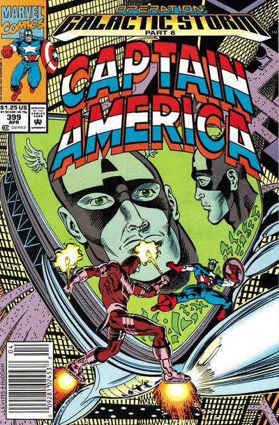 Cover for Captain America (Marvel, 1968 series) #399 [Newsstand Edition]