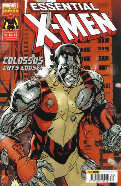 Cover for Essential X-Men (Panini UK, 2010 series) #10