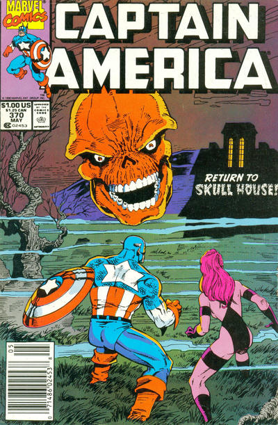 Cover for Captain America (Marvel, 1968 series) #370 [Newsstand Edition]