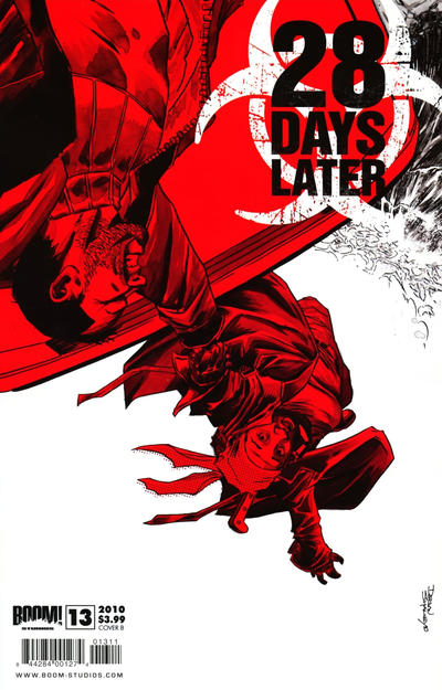 Cover for 28 Days Later (Boom! Studios, 2009 series) #13