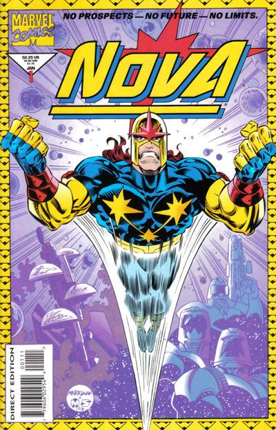 Cover for Nova (Marvel, 1994 series) #1 [Regular Edition]