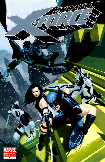 Cover for Uncanny X-Force (Marvel, 2010 series) #1 [Ribic Regular Cover]