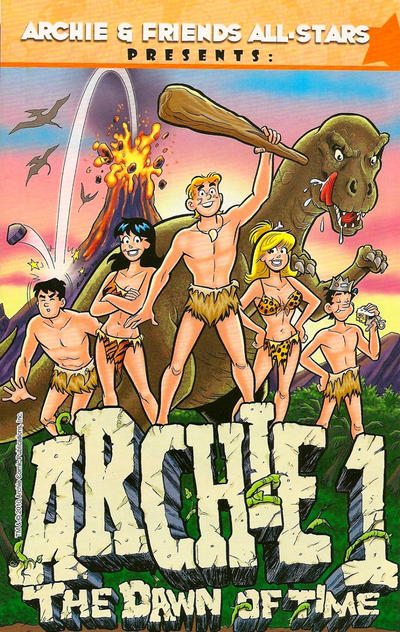 Cover for Archie 1 the Dawn of Time (Archie, 2010 series) #[nn]