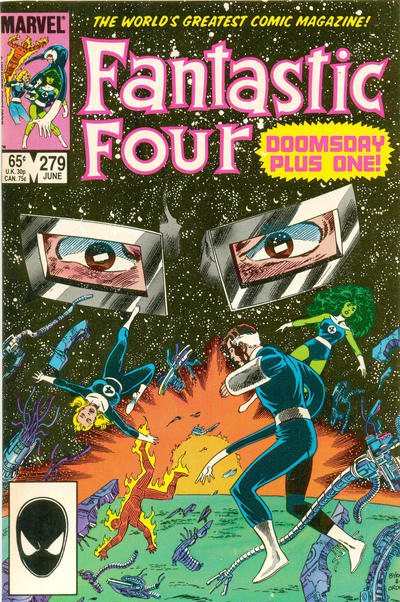 Cover for Fantastic Four (Marvel, 1961 series) #279 [Direct Edition]