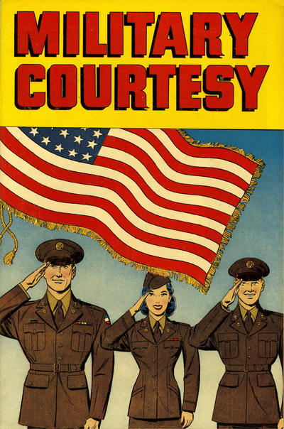 Cover for Military Courtesy (Harvey, 1950 series)