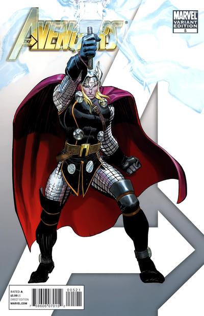 Cover for Avengers (Marvel, 2010 series) #5 [Romita Jr. Variant]