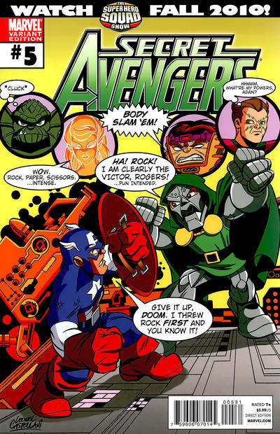 Cover for Secret Avengers (Marvel, 2010 series) #5 [Deodato Variant]
