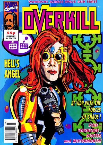 Cover for Overkill (Marvel UK, 1992 series) #6