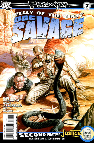 Cover for Doc Savage (DC, 2010 series) #7