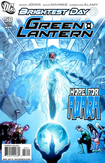 Cover for Green Lantern (DC, 2005 series) #58 [Standard Cover]