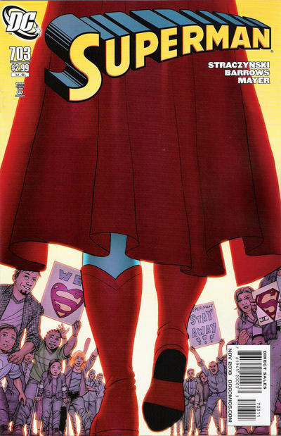 Cover for Superman (DC, 2006 series) #703 [10 for 1 Variant]