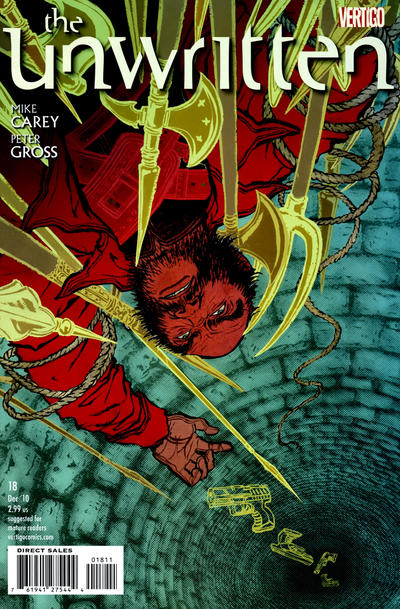 Cover for The Unwritten (DC, 2009 series) #18