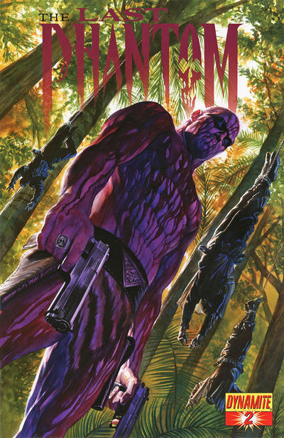 Cover for The Last Phantom (Dynamite Entertainment, 2010 series) #2