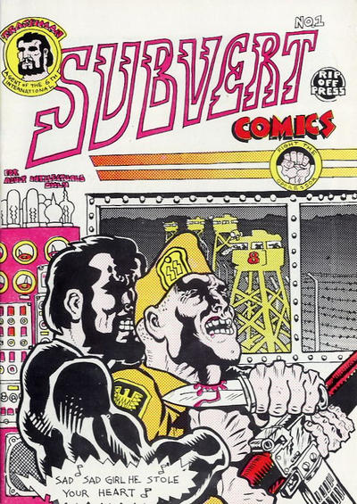 Cover for Subvert (Rip Off Press, 1970 series) #1 [3rd printing]