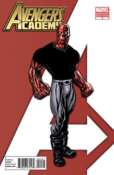 Cover for Avengers Academy (Marvel, 2010 series) #4
