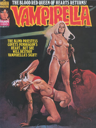 Cover for Vampirella (Warren, 1969 series) #60