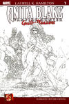 Cover for Anita Blake: Vampire Hunter in Guilty Pleasures (Marvel, 2006 series) #1 [Wraparound Sketch Cover]
