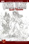 Cover for Anita Blake: Vampire Hunter in Guilty Pleasures (Marvel, 2006 series) #1 [Wraparound Sketch Cover]