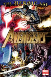 Cover for Avengers (Marvel, 2010 series) #4 [2nd Printing Variant]